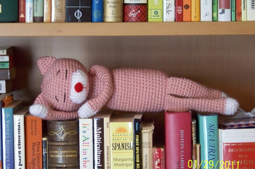 Amigurumi Amineko cat Crochet toy Amineko cat - Ivacrochettoys ... | 666x1000